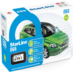 Сигнализация StarLine E66 2CAN+2LIN BT ECO